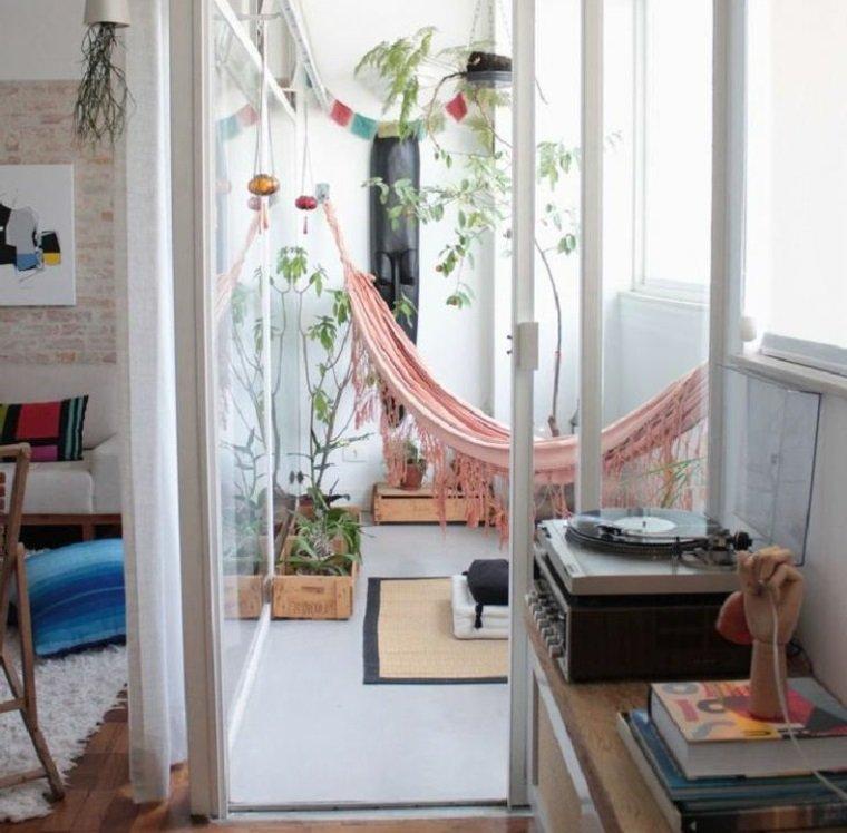 ideas creativas balcon hamaca