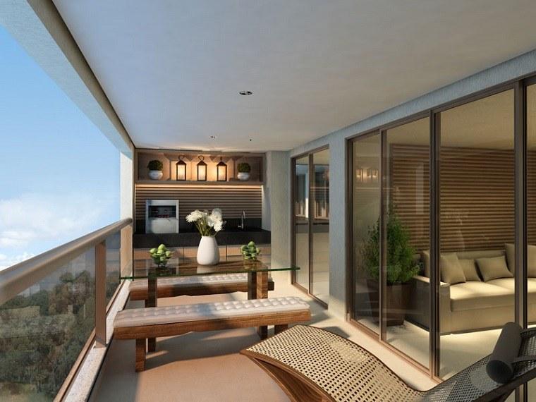 ideas creativas balcon lujoso