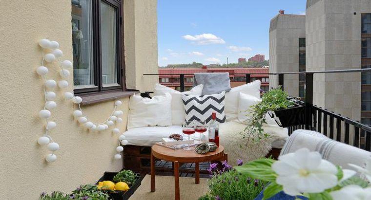 ideas creativas balcon muebles comodos