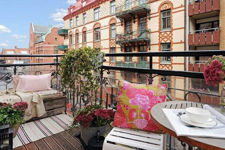 ideas creativas comodo balcon
