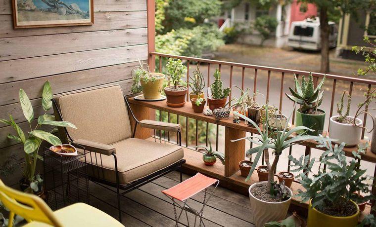 ideas creativas plantas balcon