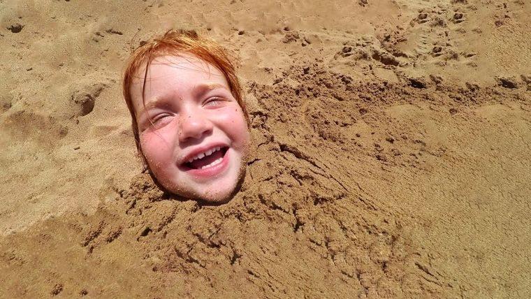juegos para entretenerse bajo arena