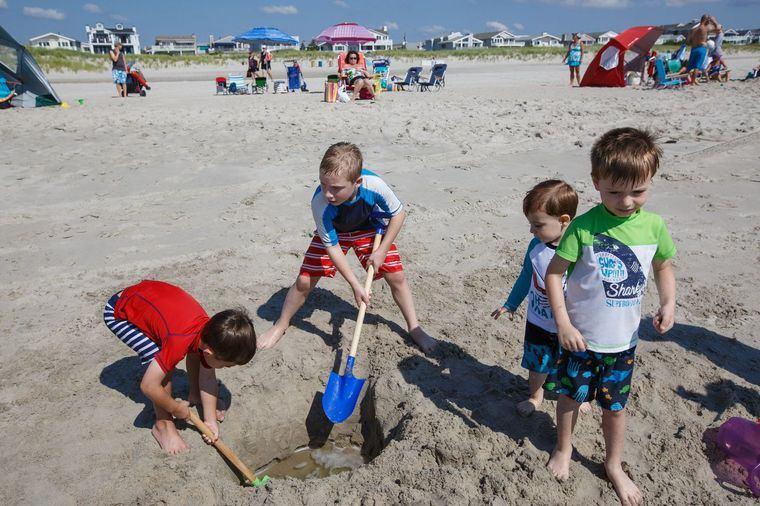 juegos para entretenerse cavar hoyo