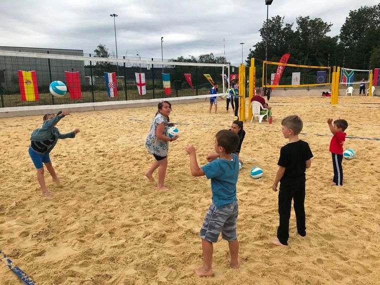 juegos para entretenerse con voleibol
