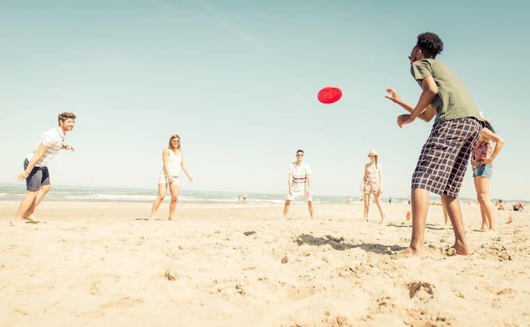 juegos para entretenerse frisbee