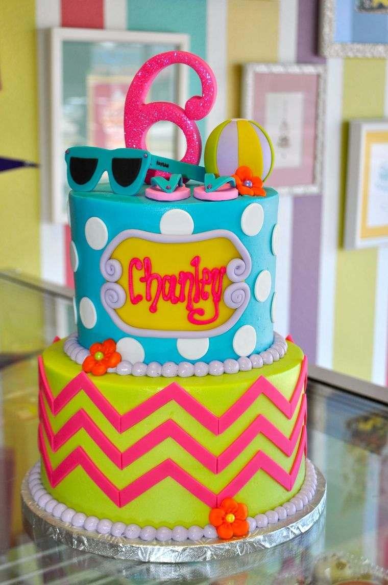 pasteles infantiles color