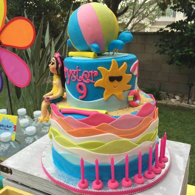 pasteles infantiles divertidos