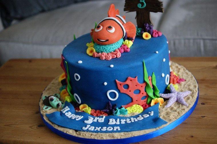pasteles infantiles nemo