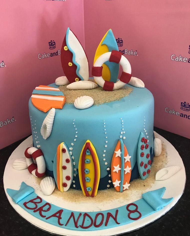 pasteles infantiles para verano