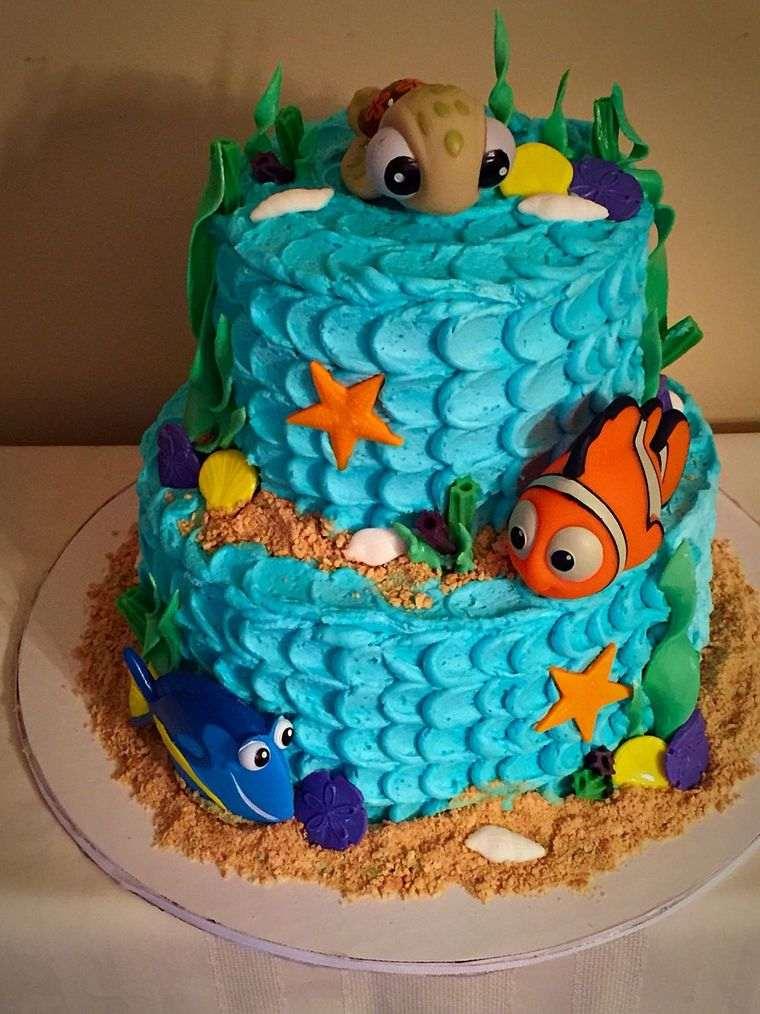 pasteles infantiles peces