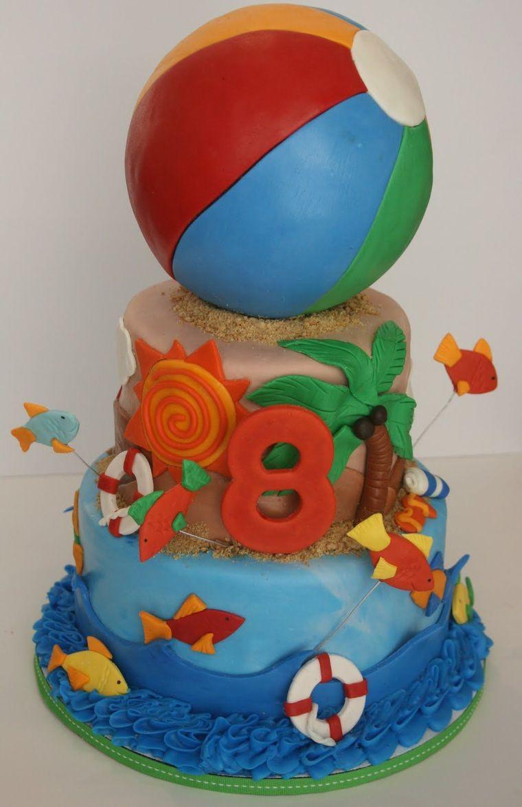 pasteles infantiles pelota