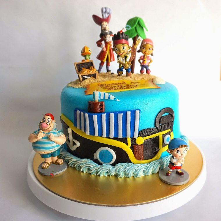 pasteles infantiles piratas