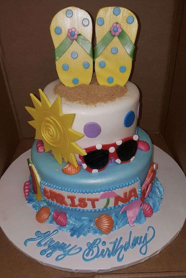 pasteles infantiles sol