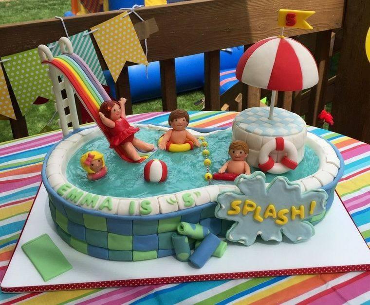 pasteles infantiles verano