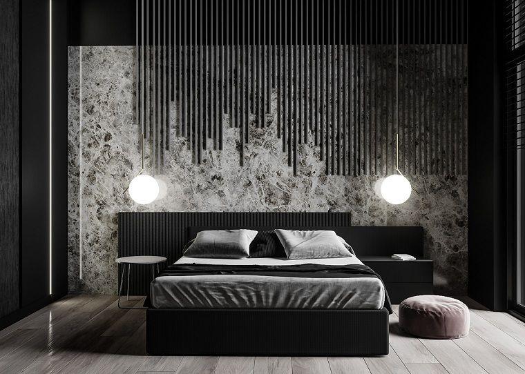 Recamaras diseño gotico-dormitorio