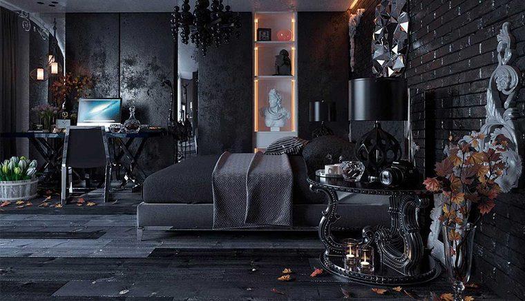 Recamaras diseño -gotico-interiores