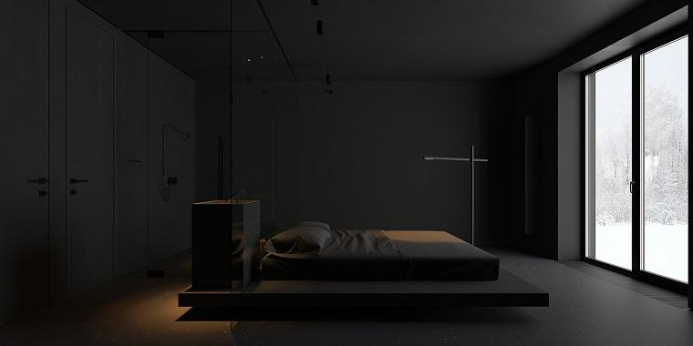 recamaras-diseno-gotico-minimalista
