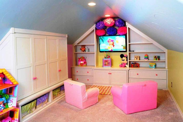 sala de juegos niña