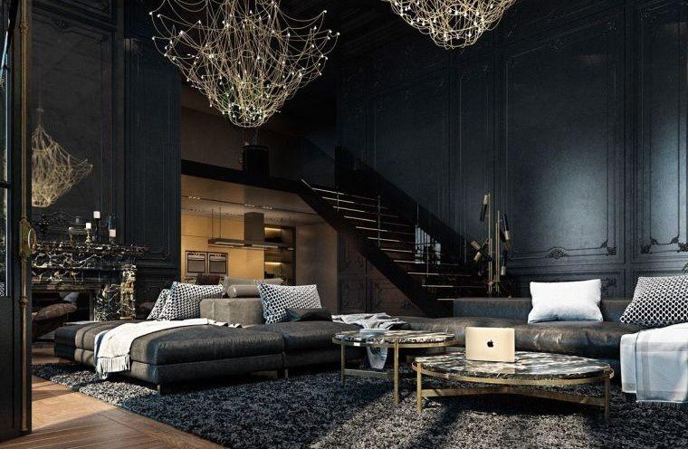 salon-estilo-gotico-contemporaneo-ideas