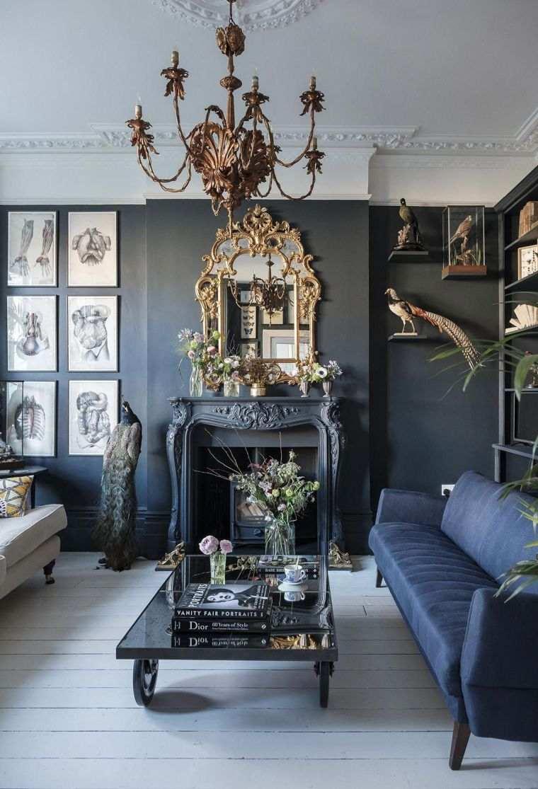 salon-estilo-gotico