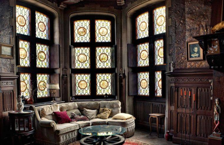 salon-gotico-diseno-interior