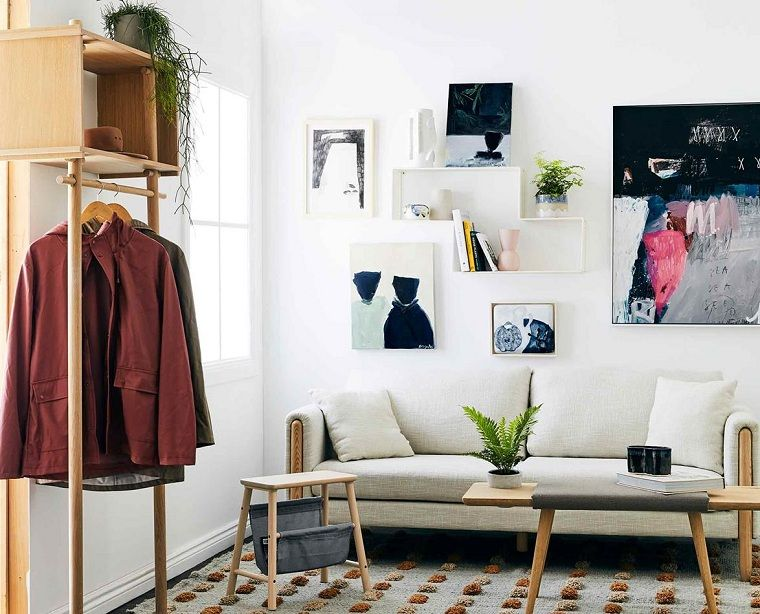 Sofas pequeños-decoracion-salon
