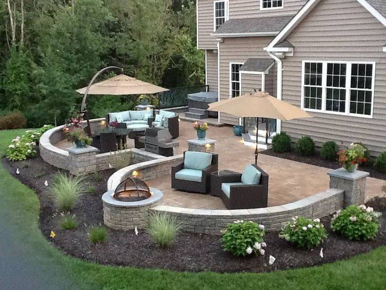 charming outdoor terraces