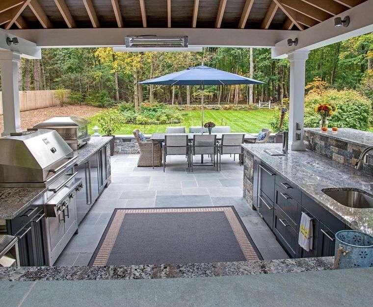 charming terraces open kitchen