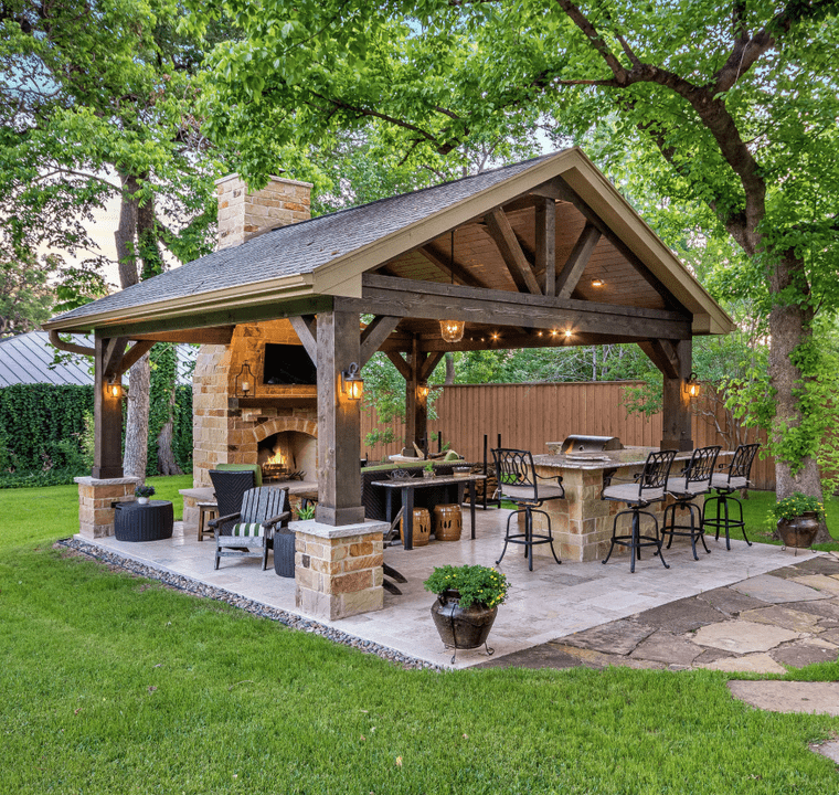 charming dining terraces