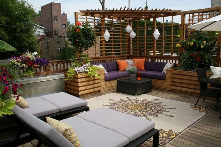 charming terraces decoration