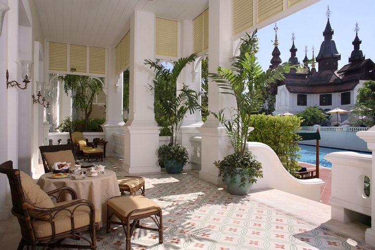 charming colonial style terraces