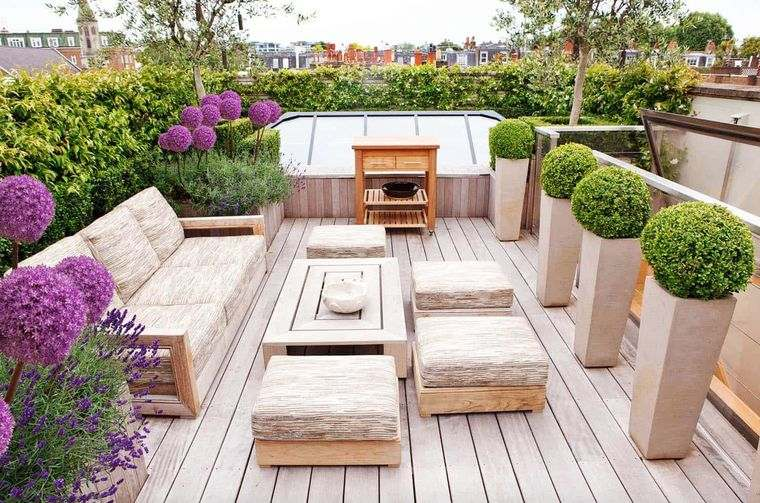 charming country-style terraces