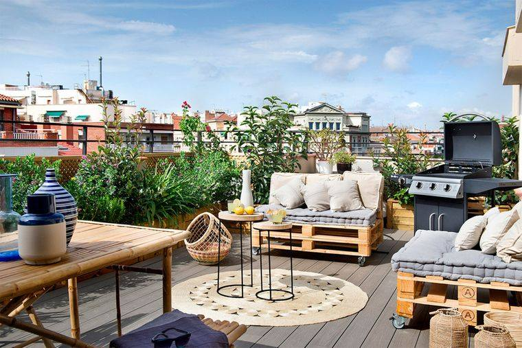 terraces with functional charm