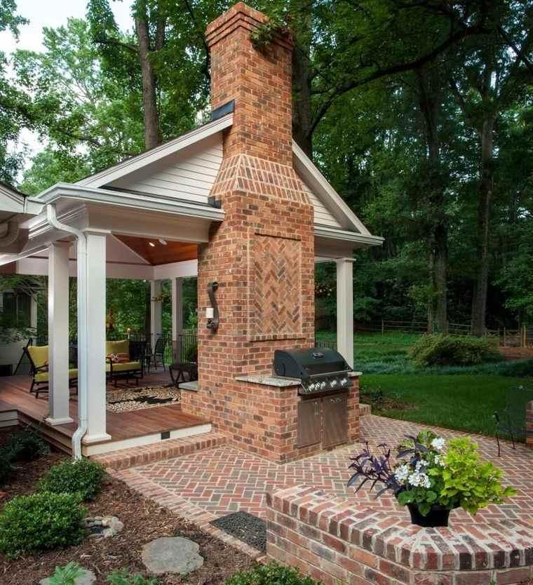 charming brick terraces