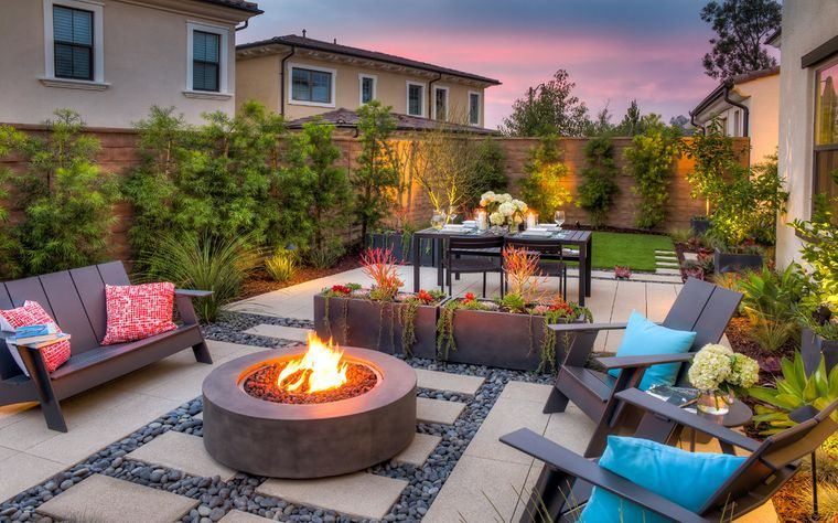 charming terraces for relaxation