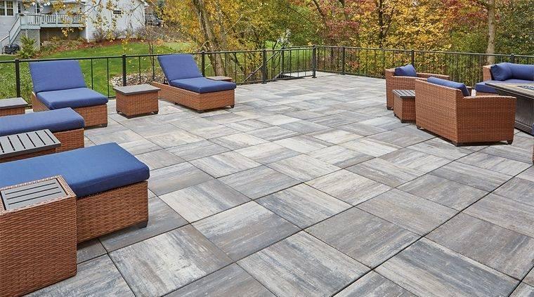 charming terraces concrete floor