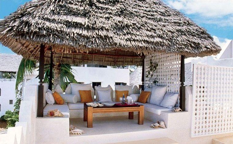 terraces with beach charm
