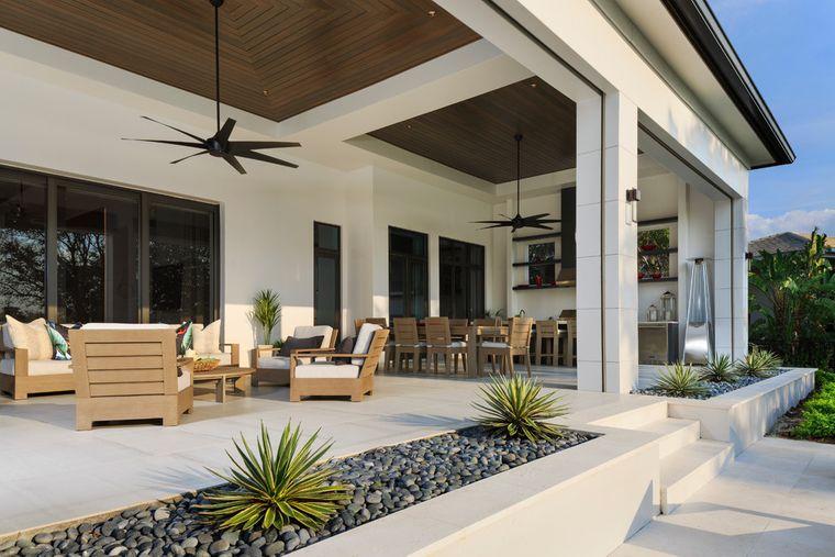 charming terraces outside living room