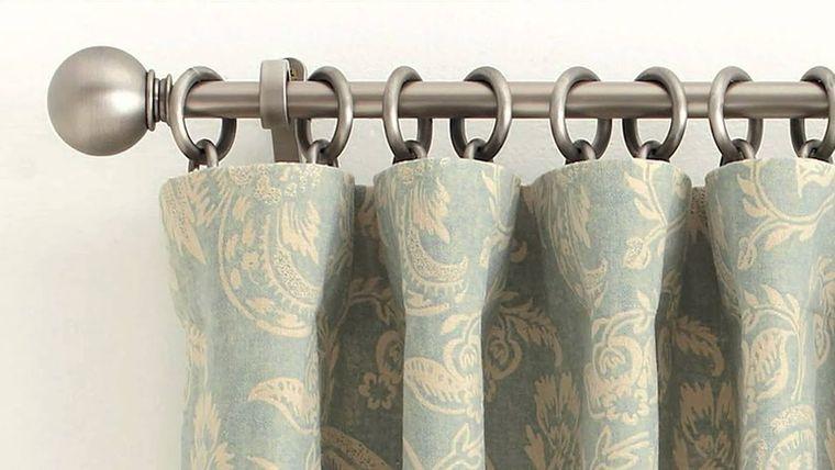 tipos de cortinas anillo