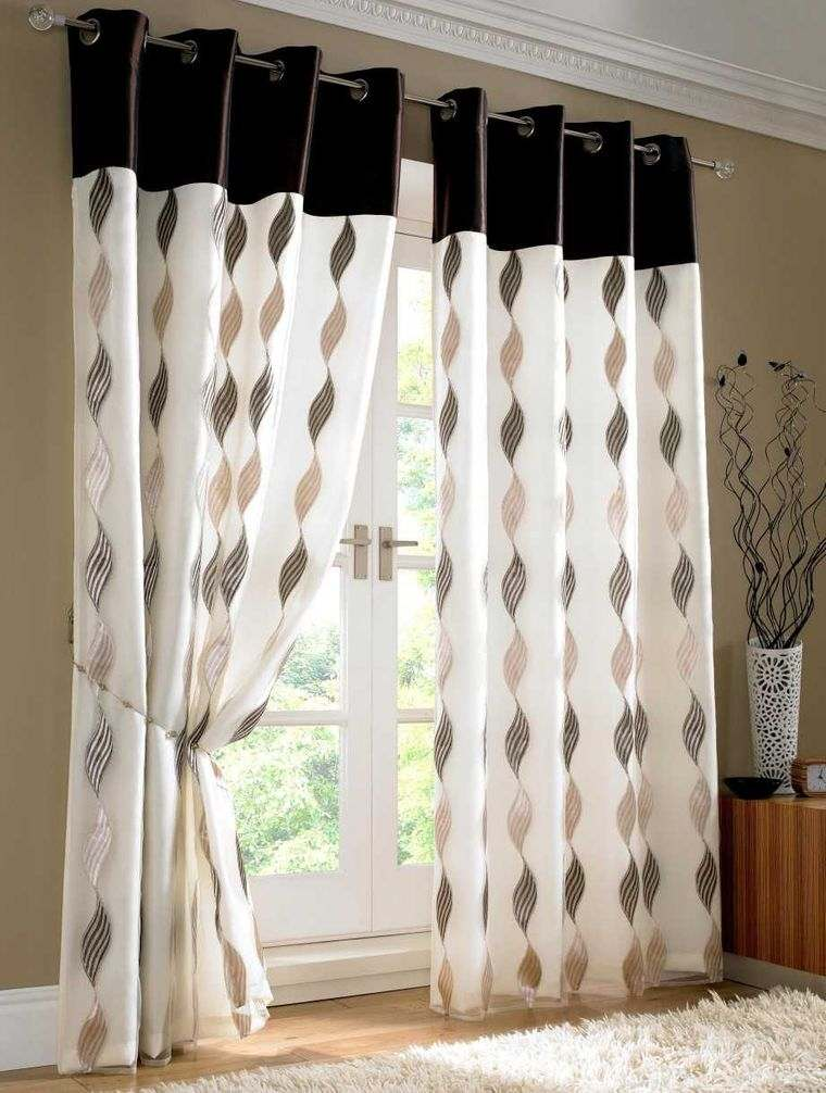 tipos de cortinas decorativas