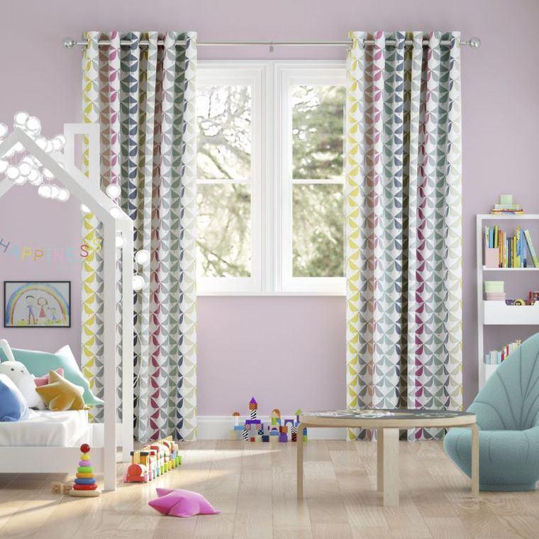 tipos de cortinas dormitorio infantil