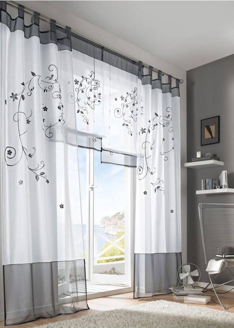 tipos de cortinas estilo tab top