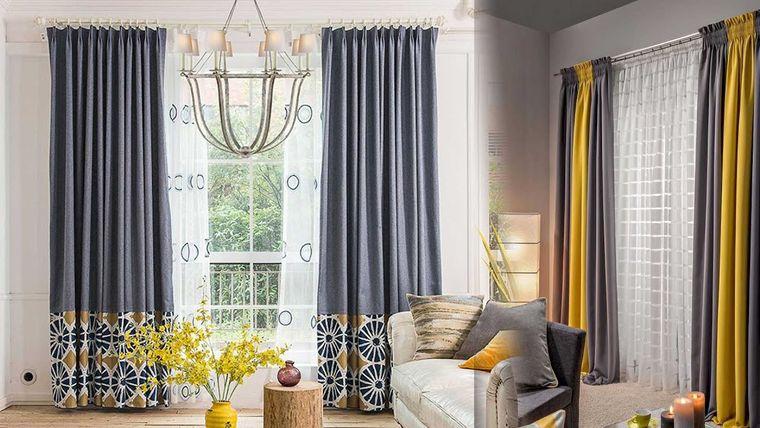tipos de cortinas fruncido