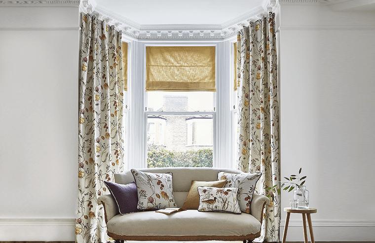 Tipos de cortinas para enmarcar las ventanas de tu hogar