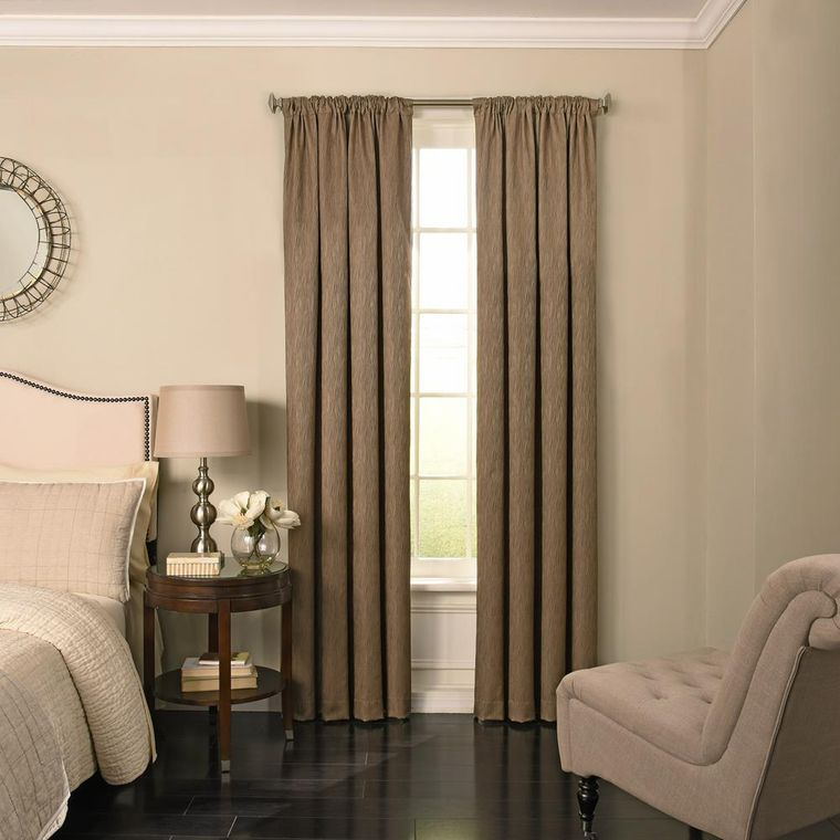 tipos de cortinas largas