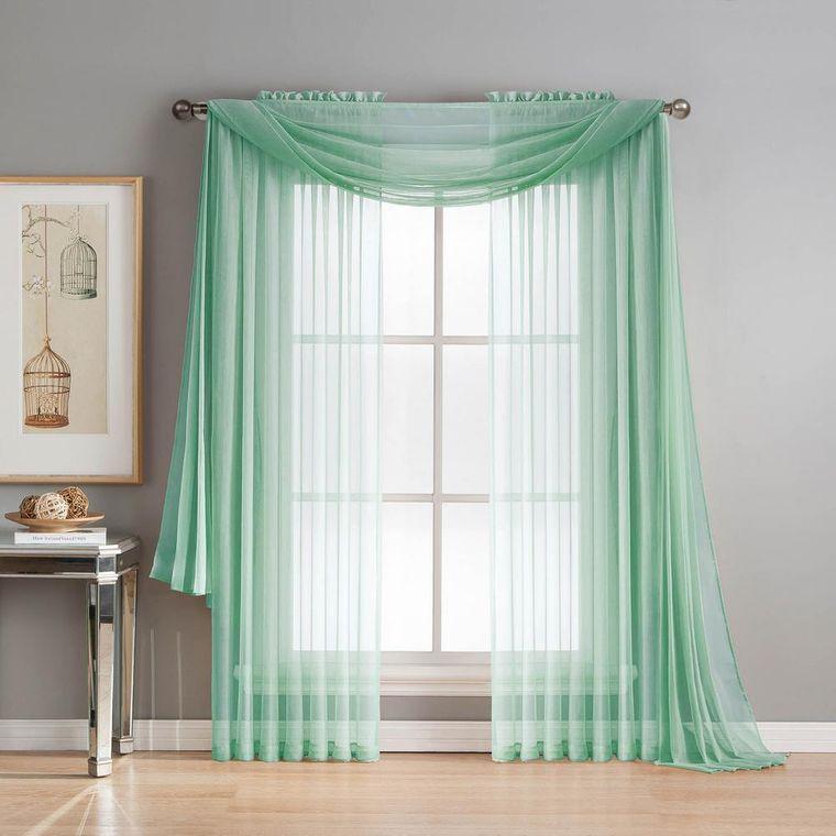 tipos de cortinas pellizco plisado