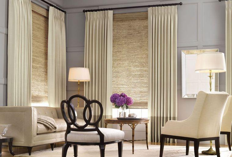 tipos de cortinas pellizco