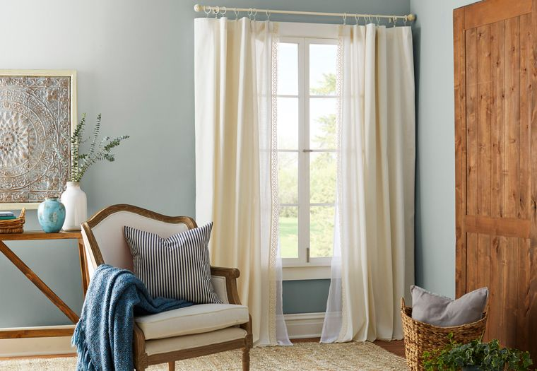 tipos de cortinas sala de estar