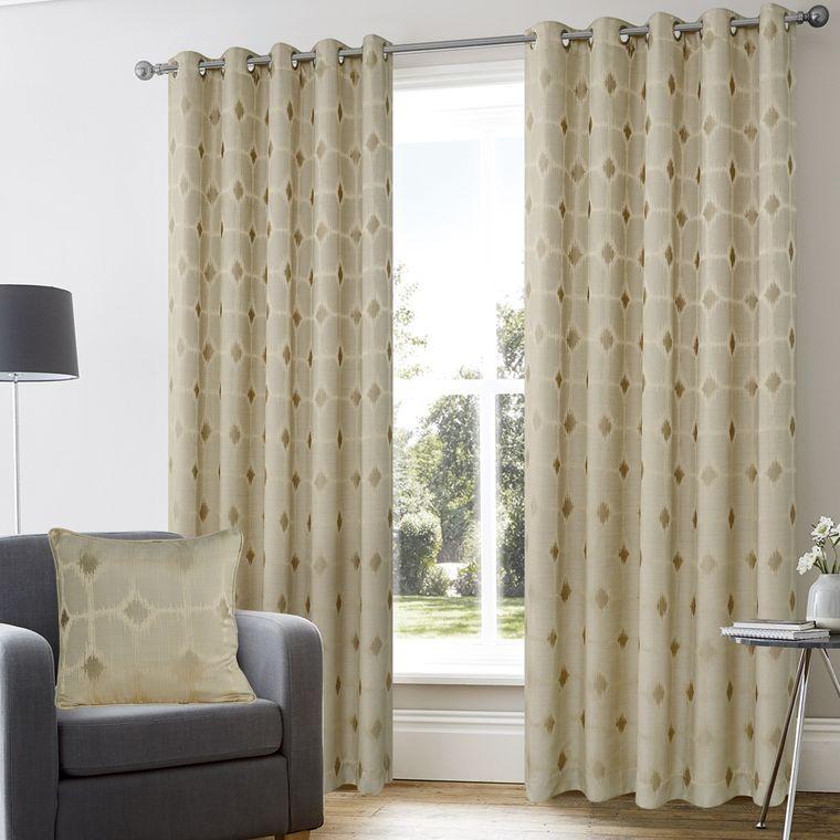 tipos de cortinas telas combinables