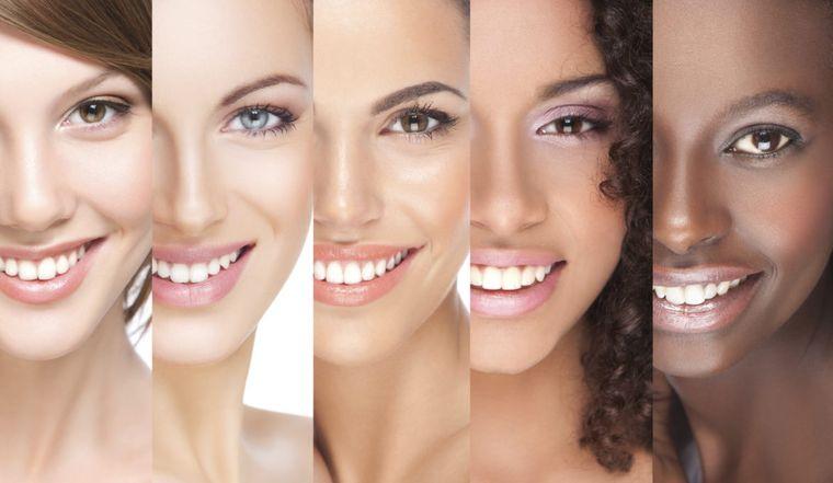 tipos de piel mujeres